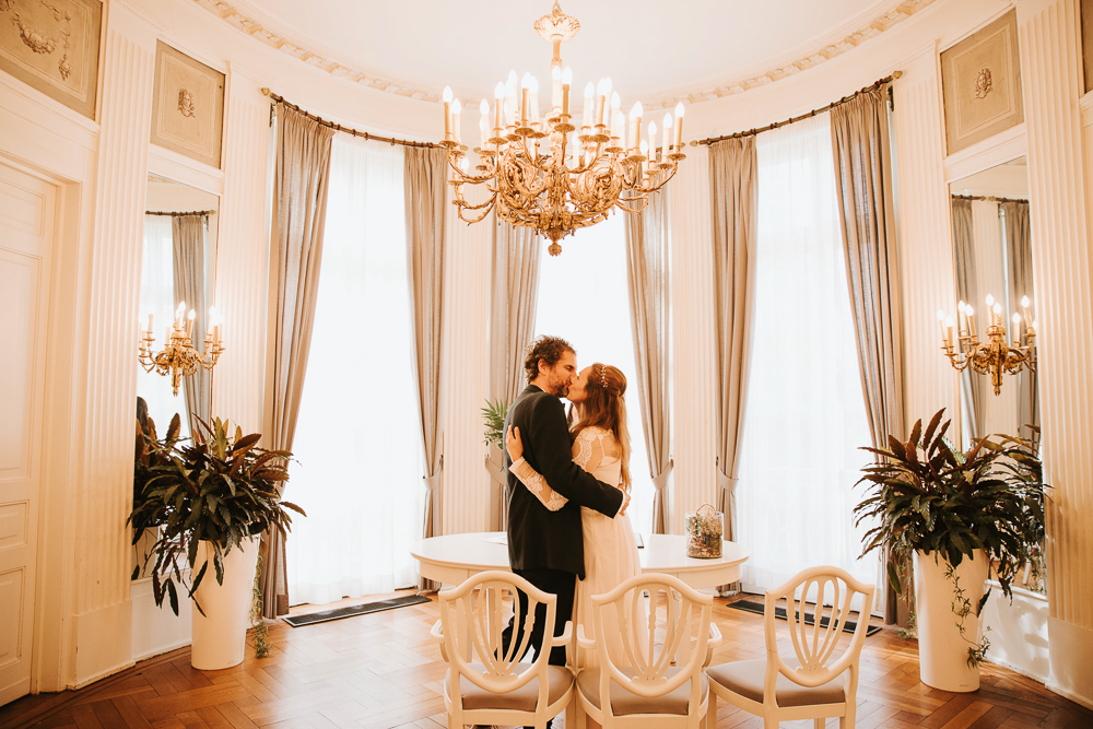 Hochzeitsreportage vom Brautpaar in Lübeck und Umgebung
